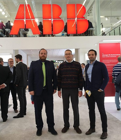 L&B 2018 ABB booth - with Thorsten Riebel